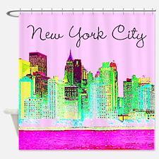 FABULOUS NYC Shower Curtain