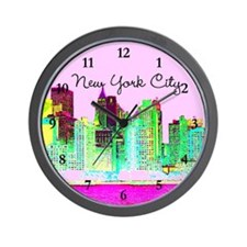 FABULOUS NYC Wall Clock
