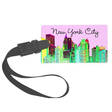 FABULOUS NYC Large Luggage Tag