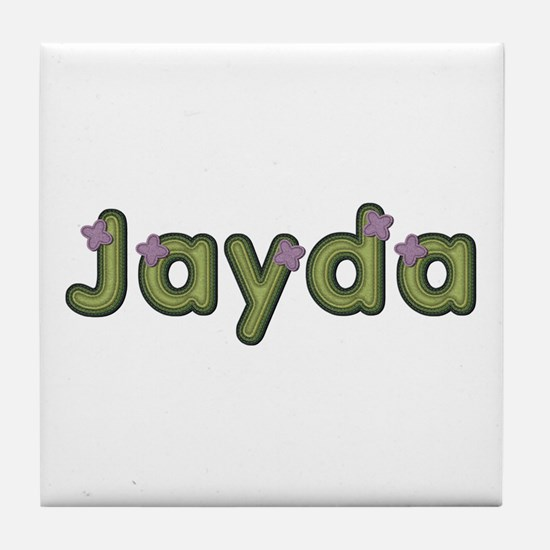 Jayda Spring Green Tile Coaster