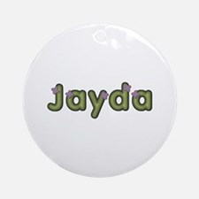 Jayda Spring Green Round Ornament