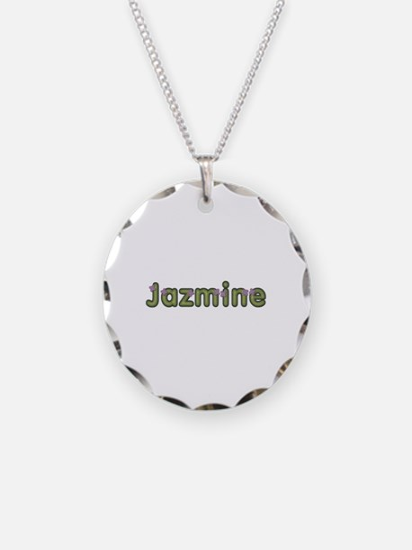 Jazmine Spring Green Necklace