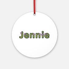 Jennie Spring Green Round Ornament