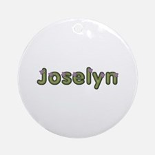 Joselyn Spring Green Round Ornament