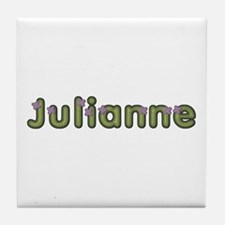 Julianne Spring Green Tile Coaster