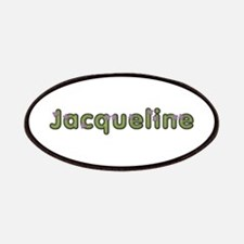 Jacqueline Spring Green Patch