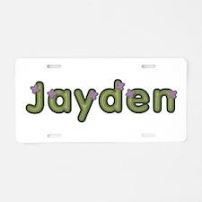 Jayden Spring Green Aluminum License Plate
