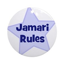 Jamari Rules Ornament (Round)