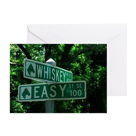 Easy & Whiskey Greeting Cards (Pk of 10)