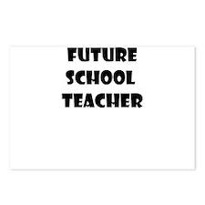 FUTURE SCHOOL TEACHER Postcards (Package of 8)