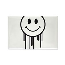 graffiti_smiley Rectangle Magnet