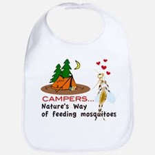 Camping: Campers and Mosquitoes Bib
