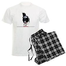 Border Collie jump Pajamas