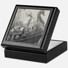 Dragon boat Keepsake Box