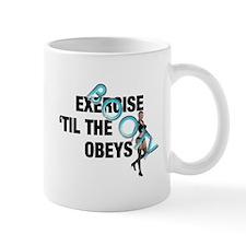 TOP Workout Slogan Mug