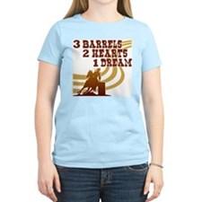 Barrel Racing Women's Pink T-Shirt