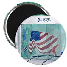 """Mail Truck 2.25"""" Magnet (100 pack)"""