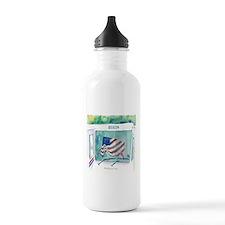 Mail Truck Water Bottle