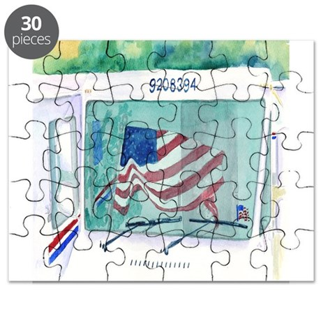 Mail Truck Puzzle