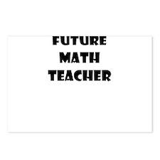 FUTURE MATH TEACHER Postcards (Package of 8)