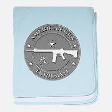 American Gun Enthusiast baby blanket