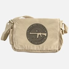 American Gun Enthusiast Messenger Bag