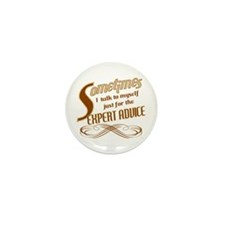 Talk to Myself Mini Button (100 pack)