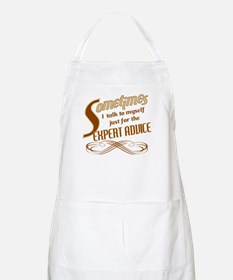 Talk to Myself Apron