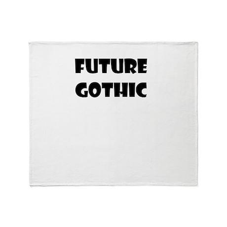 FUTURE GOTHIC Throw Blanket