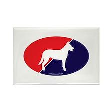 France Flag Beauceron Rectangle Magnet