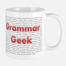 Grammar Geek Small Mugs