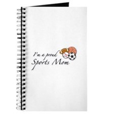 I'm a Proud Sports Mom Journal