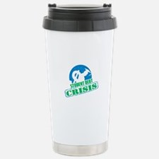 Student Debt Crisis Logo Travel Mug