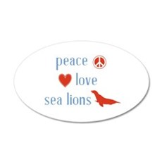 Sea Lion Wall Decal