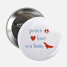 """Sea Lion 2.25"""" Button"""