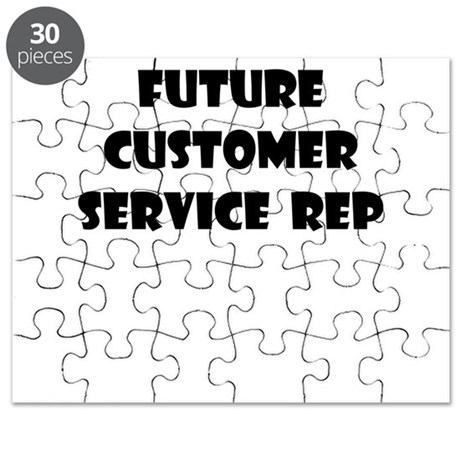 FUTURE CUSTOMER SERVICE REP Puzzle by careerwear