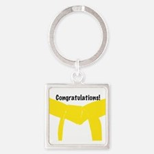 Yellow Belt Congrats Keychains