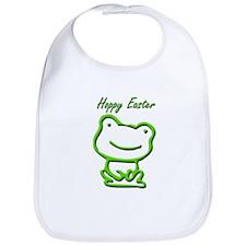 Cute Hoppy Easter Frog Bib