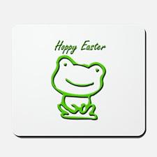 Cute Hoppy Easter Frog Mousepad