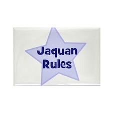 Jaquan Rules Rectangle Magnet