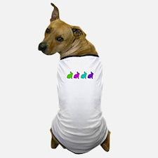 Cute Pastel Bunnies Dog T-Shirt