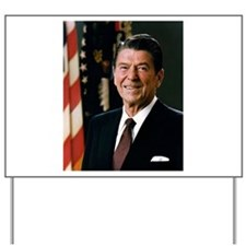 President Ronald Reagan Yard Sign