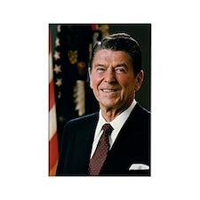 President Ronald Reagan Rectangle Magnet