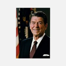 President Ronald Reagan Rectangle Magnet