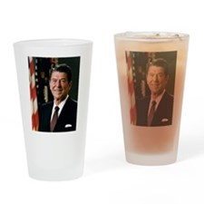 President Ronald Reagan Drinking Glass