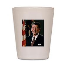 President Ronald Reagan Shot Glass
