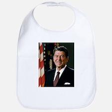 President Ronald Reagan Bib