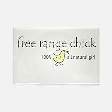 Free Range Chick (Kid's) Rectangle Magnet