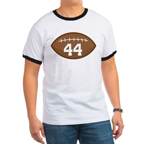 Football Player Number 44 Ringer T