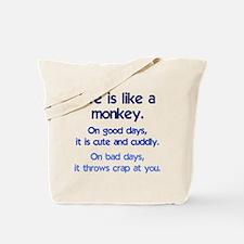 monkey_life3.png Tote Bag